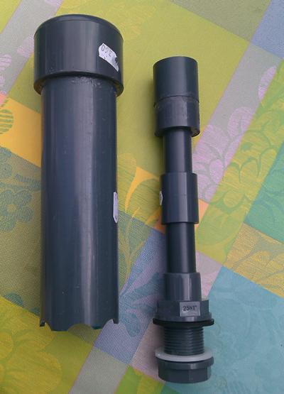 Eigenbau – Bell Siphon für Aquaponik