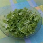 Erste Salaternte