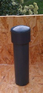 Bell oft the Siphon according to Affnan´s Aquaponics, with selfmade Funnel